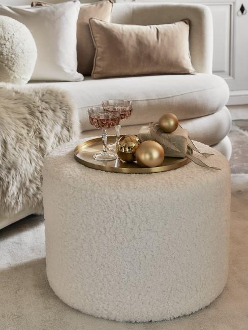 Weiß als wichtige Trendfarbe zu Weihnachten 2021