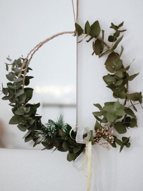 Herbstkranz aus Eukalyptus