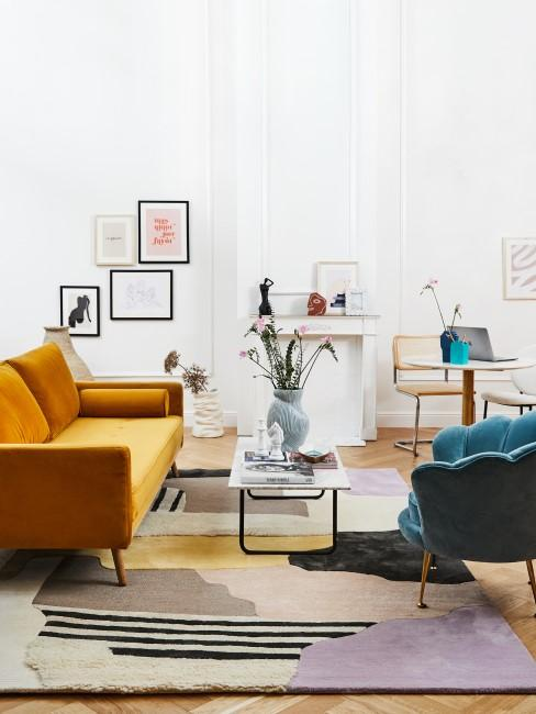 Wohnzimmer im Retro Style