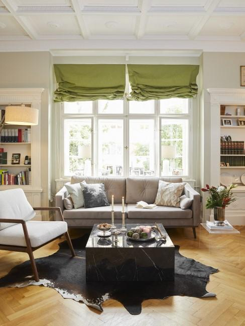 Wohnbereich im Vintage Stil