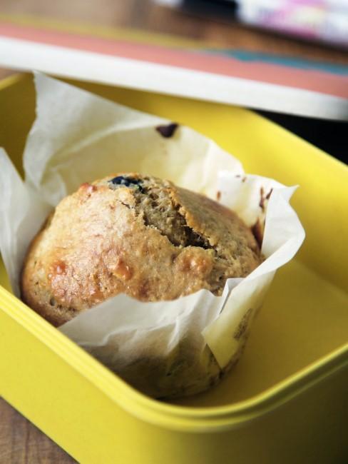 Muffin als Snack beim Camping mit Kindern