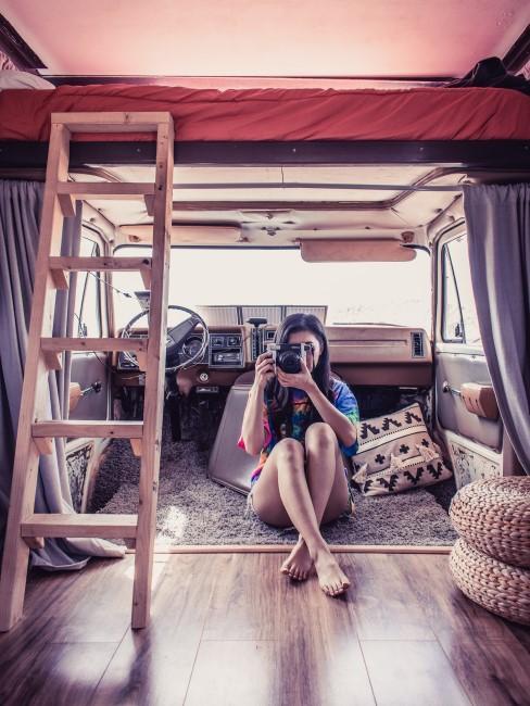 Camper Ausbau Beispiel mit Stockbett