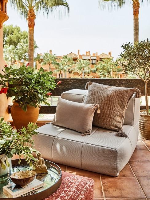 Birgit Schrowange Terrasse Lounge Sessel