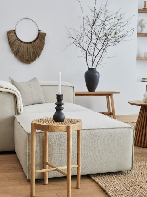 Modernes Wohnzimmer mit Boho Elementen