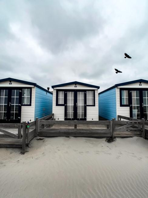 Camping Style im Mobile Home am Meer