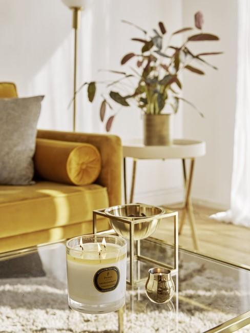 Gelb mit Gold kombinieren