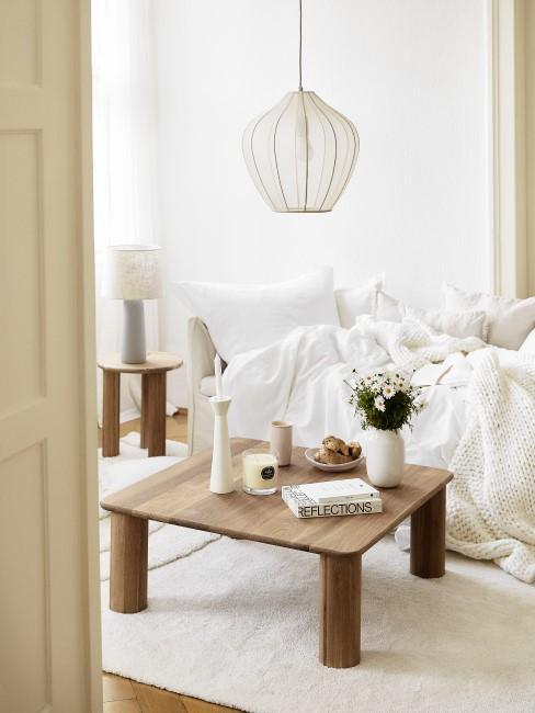 Bedeutung der Farbe Weiß im Interior