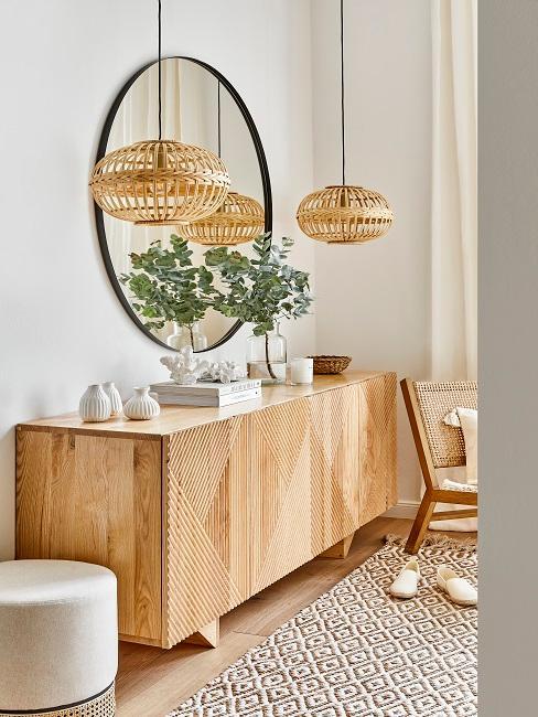 Wohnzimmer im Ibiza Boho Stil