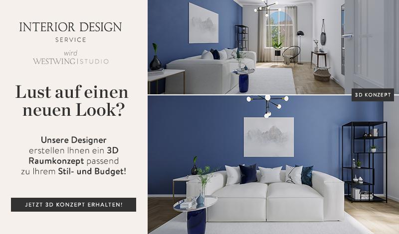 Interior Design Service Beispiel Banner Wohnzimmer Generisch