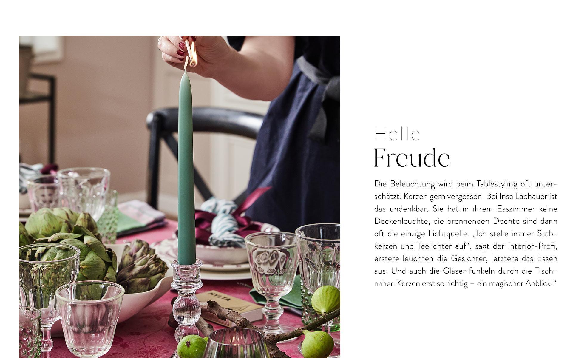 thanksgiving deko Insa Lachauer Tipps Kerzen Beleuchtung