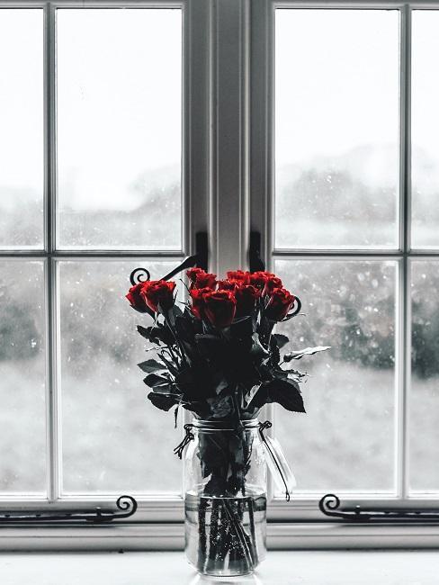 Richtig lüften im Winter Fenster beschlagen Fenterbrett