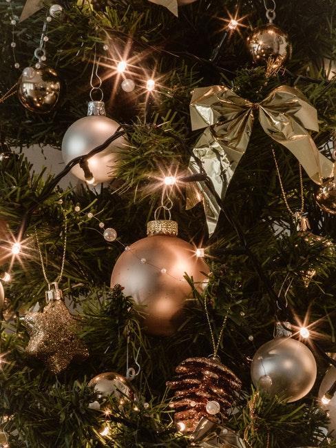 Tannenzapfen Deko an Weihnachten