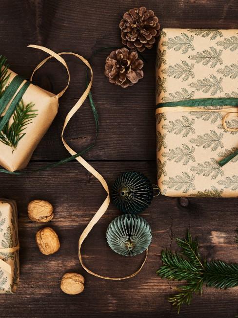 Geschenke natürlich verpacken