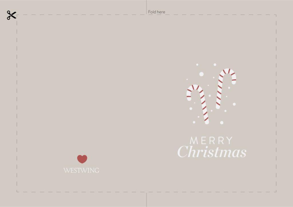 Schöne Weihnachtskarten zum Ausdrucken