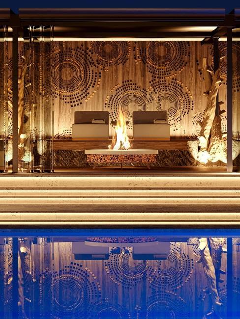 Palazzo Fiuggi Wellness Bereich Pool Spa Terme Romane