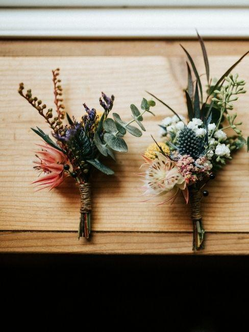 flores para invitados