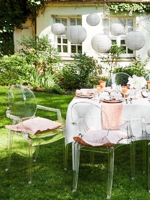 picnic en el jardin