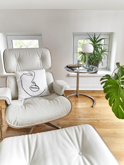sillón butaca con cojin art deco