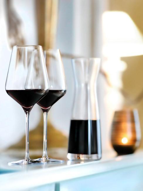 Copas de vino tinto de cristal Harmony, 6 uds., Transparente, Ø 8 x Al 24 cm Westwing Collection Copas de vino tinto de cristal Harmony