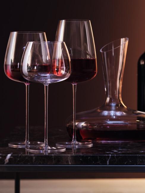 Copas de vino tinto de vidrio soplado artesanalmente Wine Culture, 2 uds.