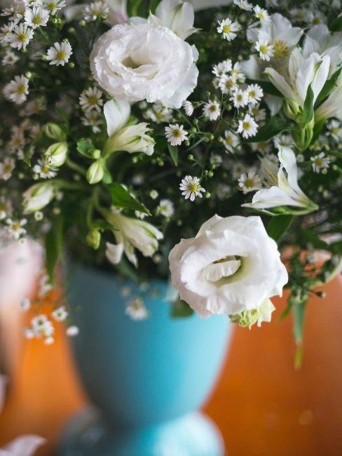 decoracion de boda en azul