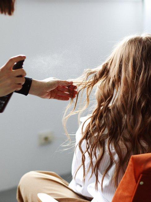 spray hacia pelo