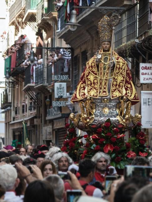 procesion de San Fermín