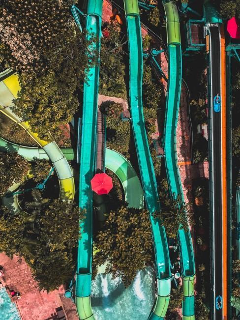 tobogan de aquapark