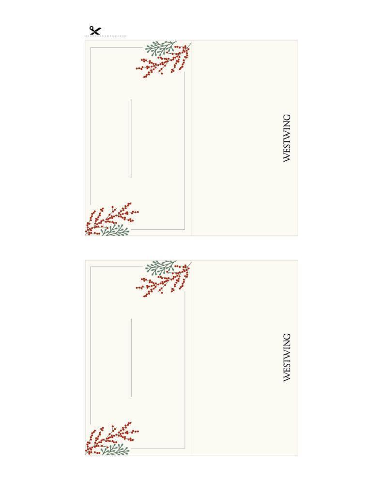 tarjetas de invitados beige
