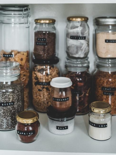 reutilizar botes de vidrio para alimentos