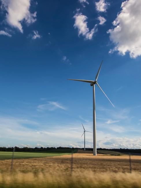 energía eólica con un molino de viento