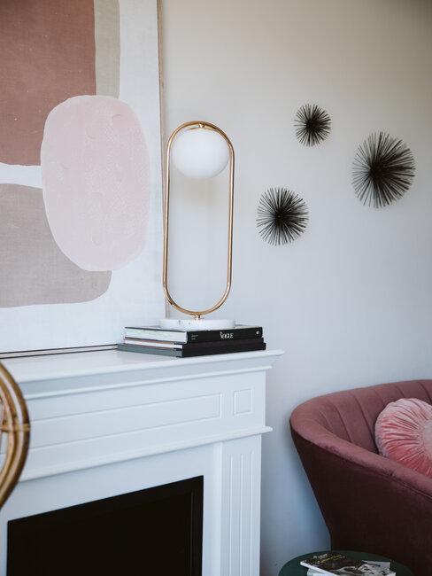accesorios decoracion estantería y pared