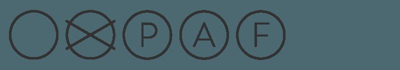 simbolos de limpieza en seco tejido