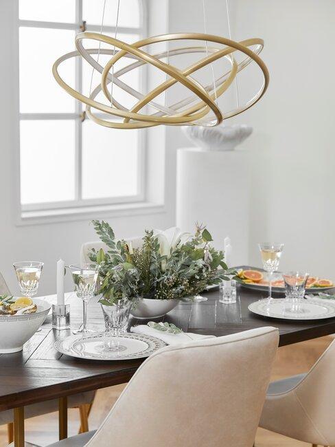 mesa y sillas comedor lámpara xxl