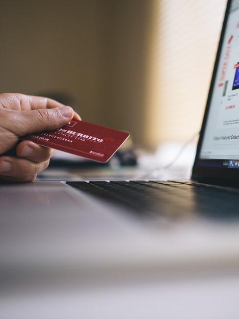 tarjeta de credito para pagar online