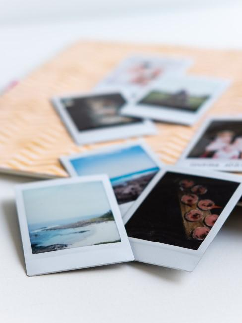 fotos en polaroid para un album casero