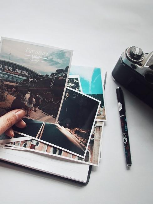fotos y una camara antigua