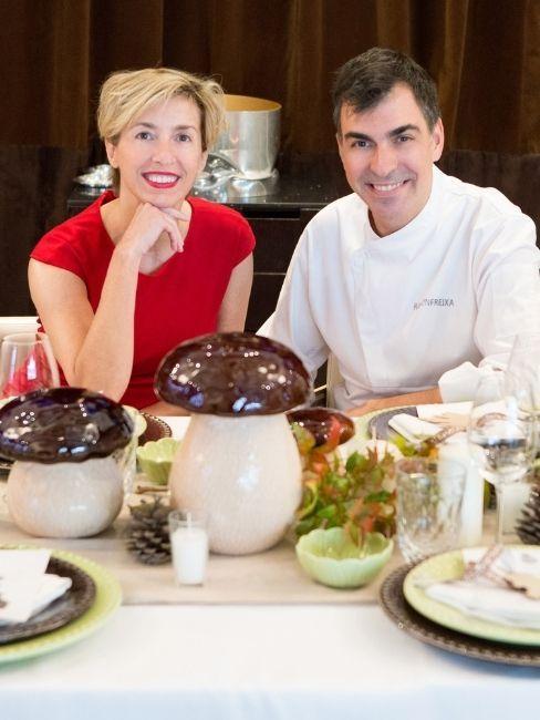 Silvia Arenas y Ramon Freixa