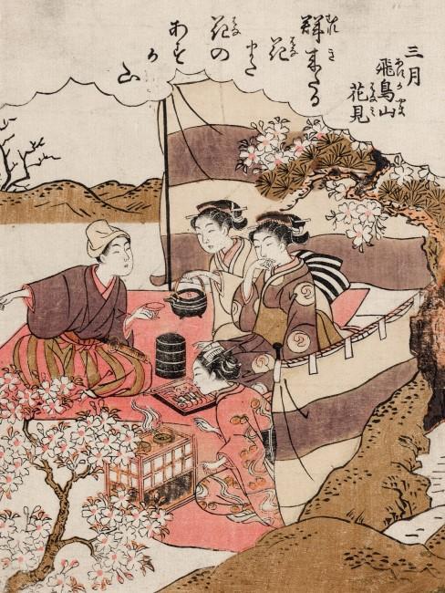 Dibujo japones de mujeres