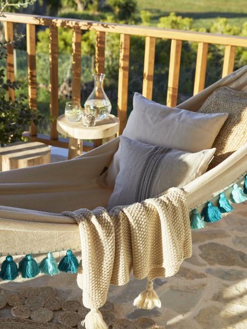 Hamaca en una terraza