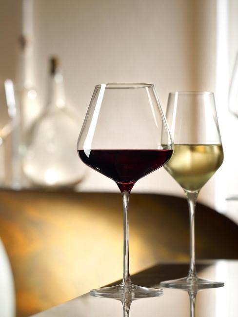 Copas de vino tinto de cristal Quatrophil, 6 uds.
