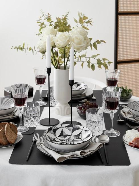 Copas de vino tinto de cristal con relive Timeless, 6 uds.