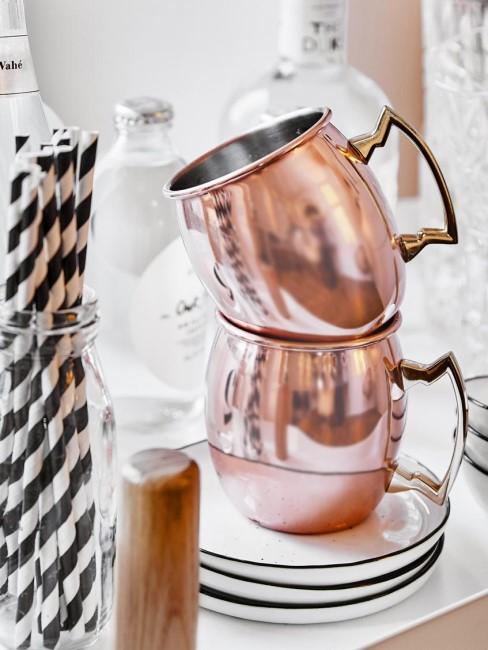 Taza de cobre Moscow Mule Shiny