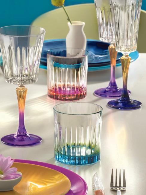 Copas y vasos de de cristal Luxion Gipsy