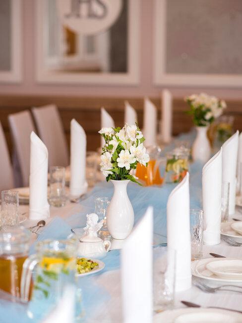 decoracion de mesa de comunion