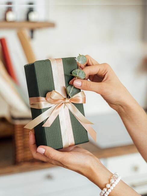 regalo diy verde