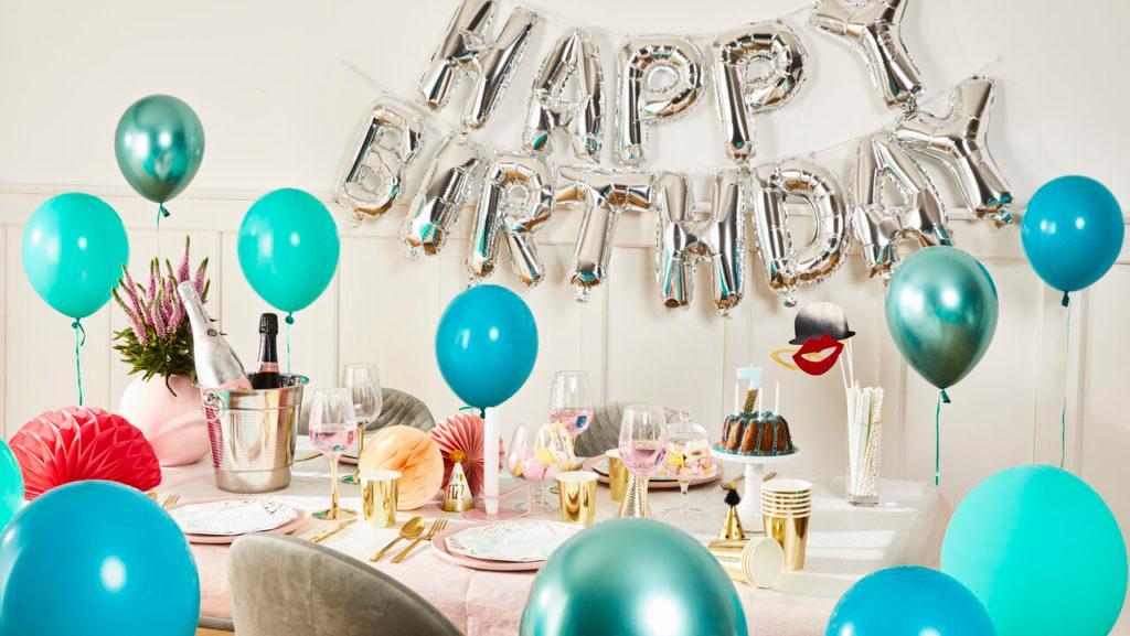 decoración fiesta de cumpleaños