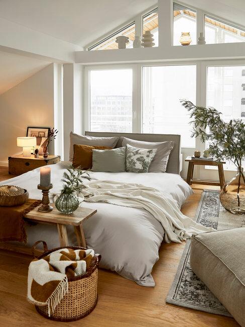 dormitorio estilo americano