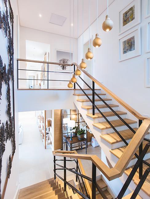 escaleras de madera industrial