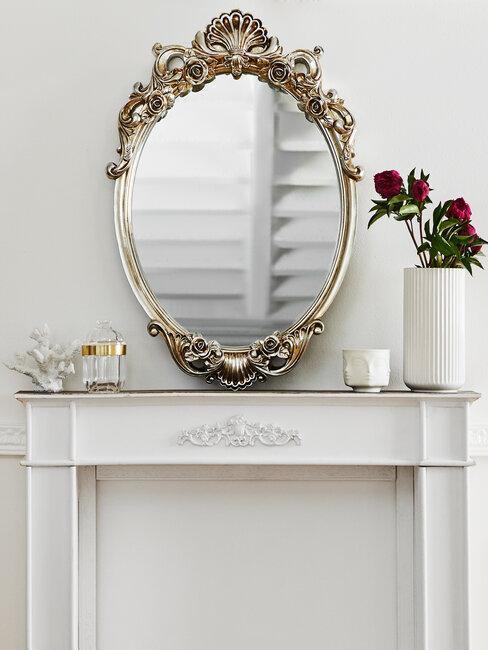 espejo barroco vintage y shabby chic